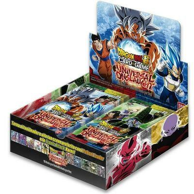 Dragon Ball Super DBS9 Universal Onslaught Box (24 buste)  Italiano