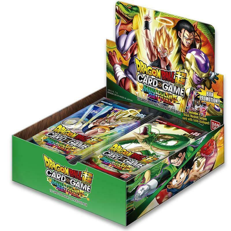 Dragon Ball Super DBS5 Box Miraculous Revival (24 buste)  Italiano