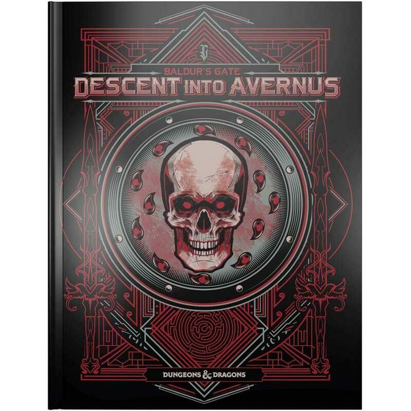 Baldur's Gate: Descent into Avernus Adventure Book (Alternate Cover)