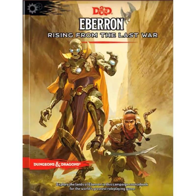 Eberron Rising from the Last War Adventure Book