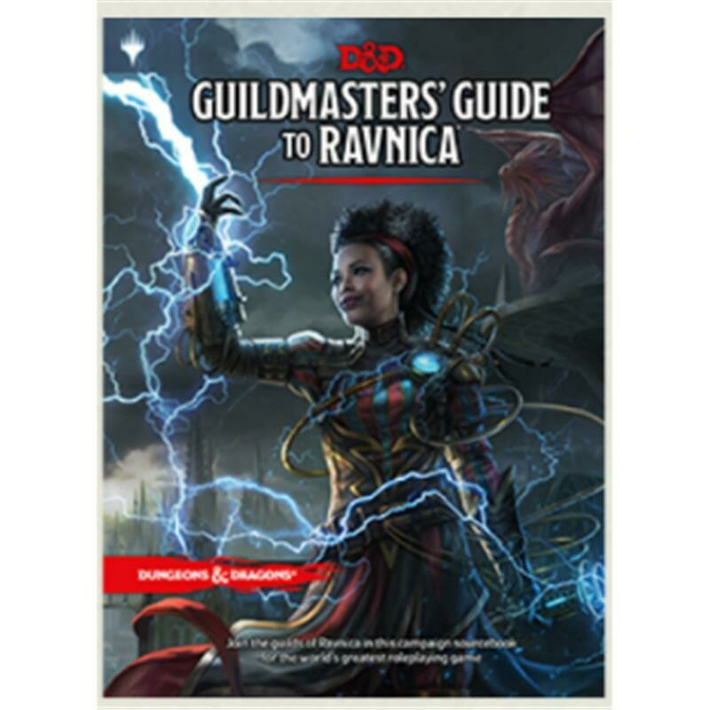 Dungeons & Dragons 5a ed. - Guildmaster's Guide to Ravnica RPG Book - ENG