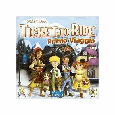 Ticket to Ride - Primo Viaggio: Europa