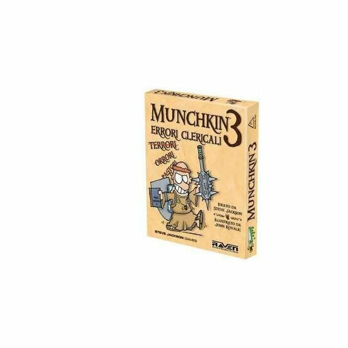 Munchkin: 3 Errori Clericali