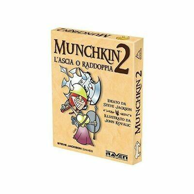 Munchkin: 2 L'Ascia o Raddoppia