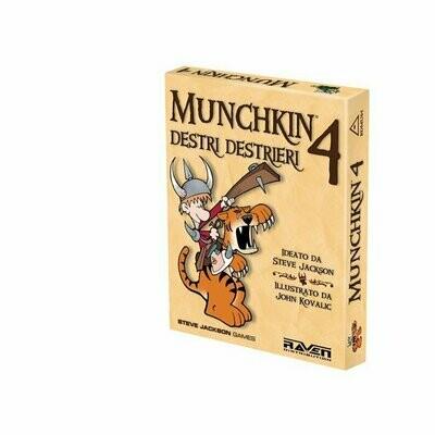 Munchkin: 4 Destri Destrieri