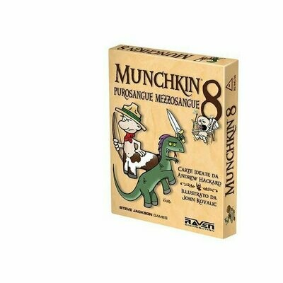 Munchkin: 8 Purosangue Mezzosangue