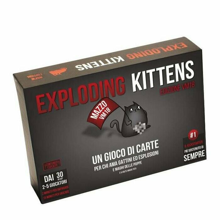 Exploding Kittens - VM18