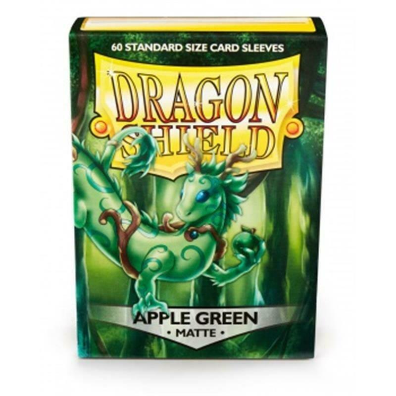 Dragon Shield Standard Sleeves - Matte Apple Green (60 Sleeves)