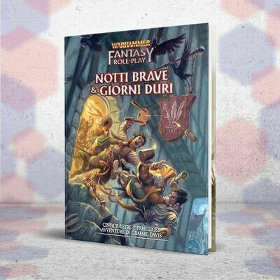 Warhammer Fantasy Roleplay 4ed: Notti Brave & Giorni Duri  DAL 31/05