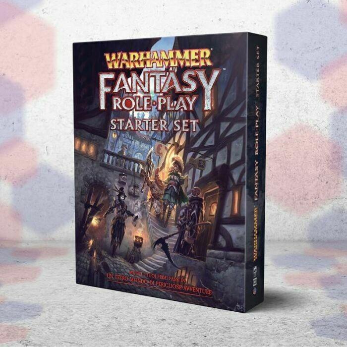 Warhammer Fantasy Roleplay 4ed: Starter Set  DAL 31/05