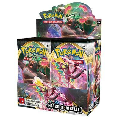 Box Pokemon Spada e Scudo Fragore Ribelle  DAL 01/06