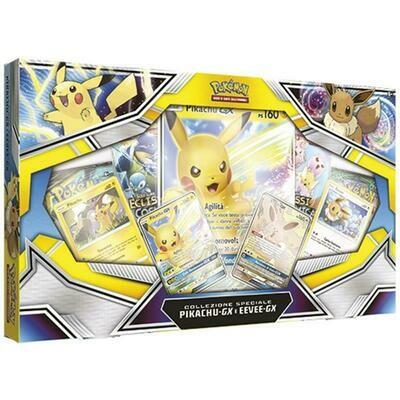 Pokemon Collezione Speciale Pikachu GX e Eevee GX