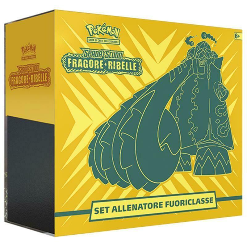 Pokemon Set Allenatore Fuoriclasse Spada Fragore Ribelle DAL 01/06