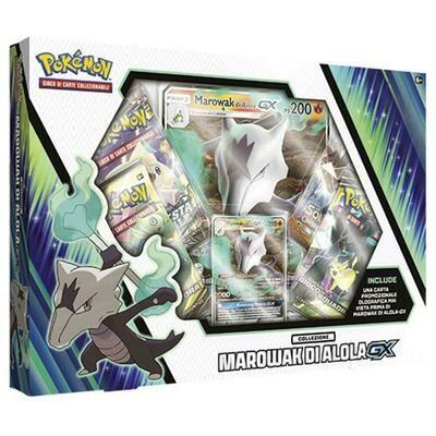 Pokemon Collezione Marowak di Alola GX Box