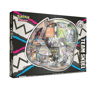 Team Skull Pin Collection