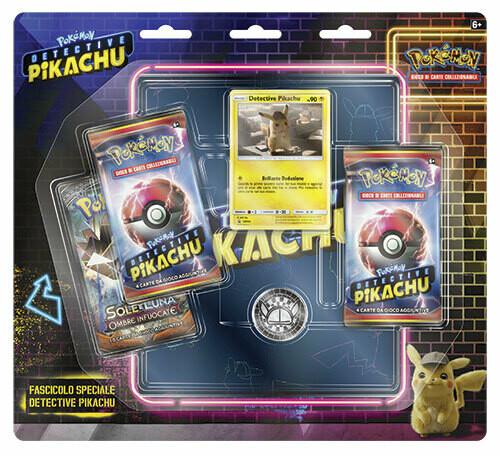 Fascicolo Speciale Detective Pikachu