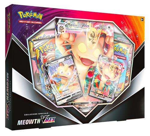 Collezione Speciale Meowth VMax