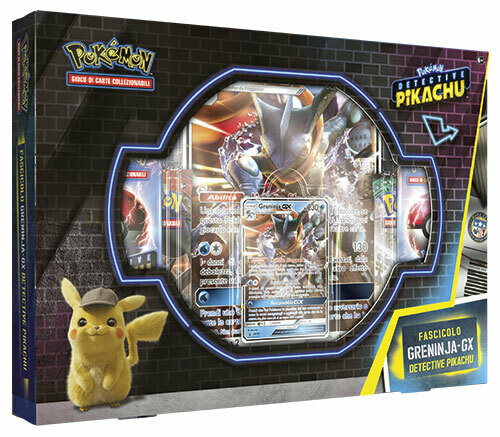 Fascicolo Greninja - GX Detective Pikachu