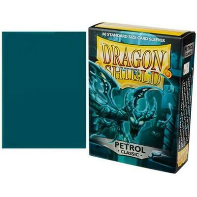 Dragon Shield Standard Sleeves - Classic Petrol (60 Sleeves)