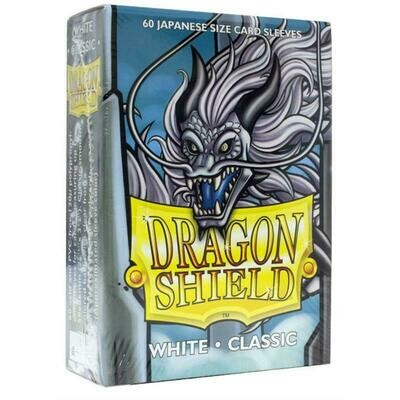 Dragon Shield Small Sleeves - Japanese Classic White (60 Sleeves)
