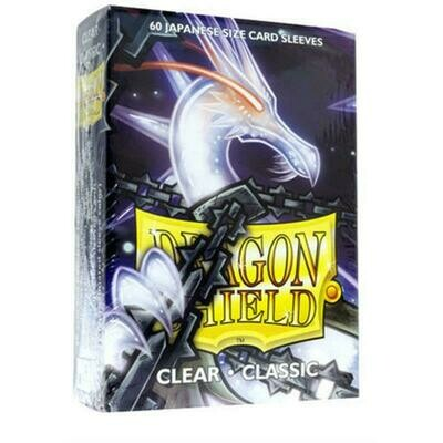 Dragon Shield Small Sleeves - Japanese Clear (60 Sleeves)