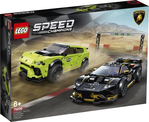 LEGO Speed Champions Lamborghini Urus ST-X e Lamborghini Huracan Super Trofeo EVO 76899 (8