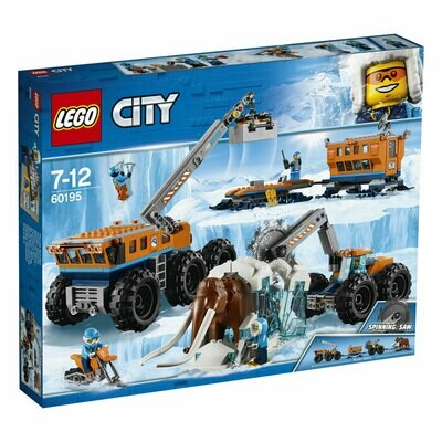 LEGO City Base mobile di esplorazione artica 60195