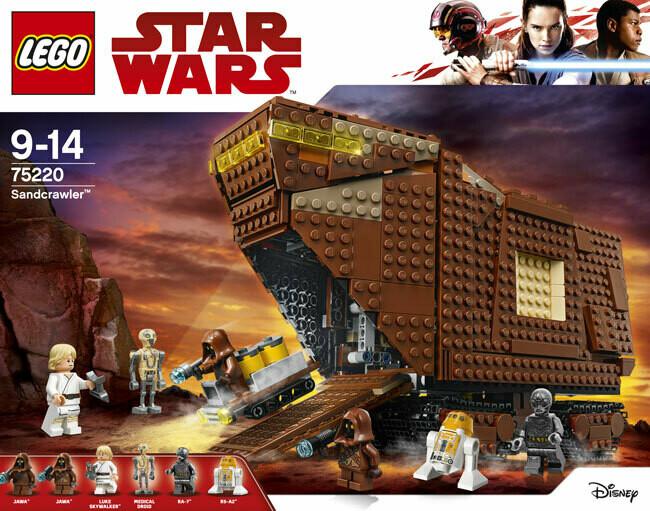 LEGO Star Wars Sandcrawler 75220 (EU)