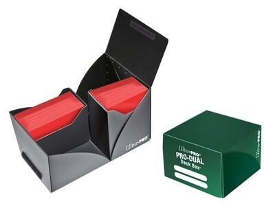 Porta mazzo verticale Pro-Dual Deck Box 180 Verde