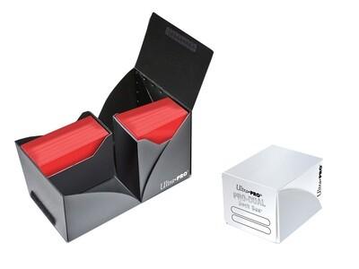 Porta mazzo verticale Pro-Dual Deck Box 120 Bianco