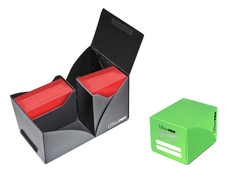 Porta mazzo verticale Pro-Dual Deck Box 120 Verde Chiaro