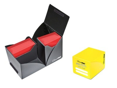Porta mazzo verticale Pro-Dual Deck Box 120 Giallo