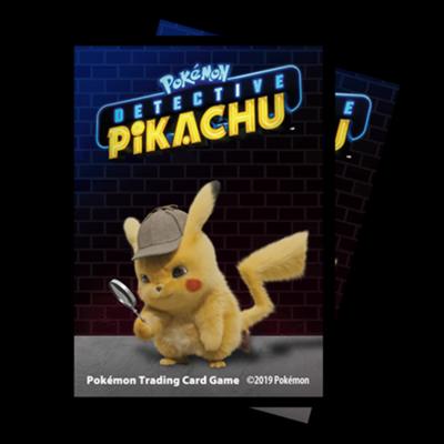Proteggi carte standard pacchetto da 65 bustine Detective Pikachu - Pikachu