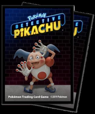 Proteggi carte standard pacchetto da 65 bustine Detective Pikachu - Mr. Mime
