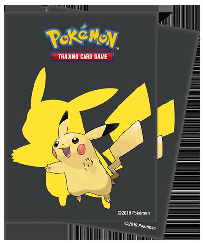 Proteggi carte standard pacchetto da 65 bustine Pikachu 2019