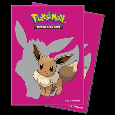 Proteggi carte standard pacchetto da 65 bustine Eevee 2019
