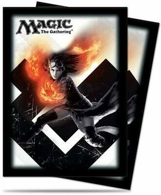 Proteggi carte standard pacchetto da 80 bustine Magic 2015 Versione 4 0/75