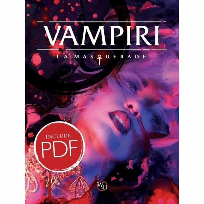 Vampiri La Masquerade 5ed: Manuale Base