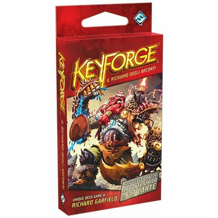 KeyForge - Il Richiamo degli Arconti: Mazzo Arconte