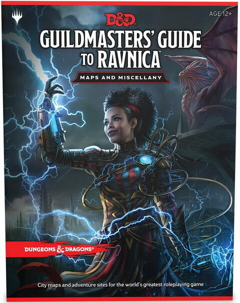 Guildmasters' Guide to Ravnica: Maps and Miscellany