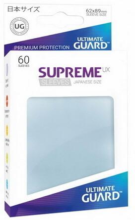 Ultimate Guard - Conf. 60 proteggicards Supreme UX Mini Clear