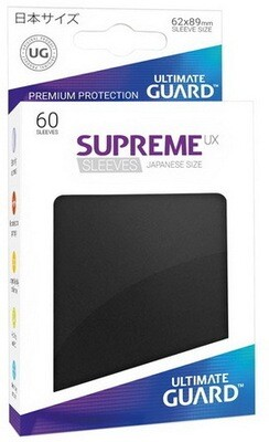 Ultimate Guard - Conf. 60 proteggicards Supreme UX Mini Nero