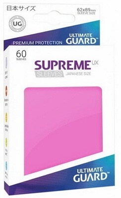 Ultimate Guard - Conf. 60 proteggicards Supreme UX Mini Rosa