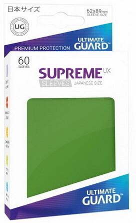 Ultimate Guard - Conf. 60 proteggicards Supreme UX Mini Verde