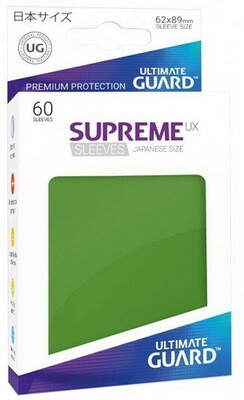 Ultimate Guard - Conf. 60 proteggicards Supreme UX Mini Verde