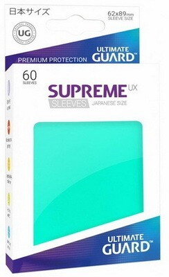 Ultimate Guard - Conf. 60 proteggicards Supreme UX Mini Tuchese [Teal]