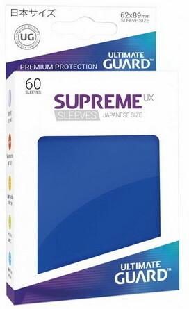 Ultimate Guard - Conf. 60 proteggicards Supreme UX Mini Blu Scuro