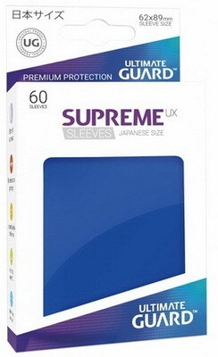 Ultimate Guard - Conf. 60 proteggicards Supreme UX Mini Blu Scuro