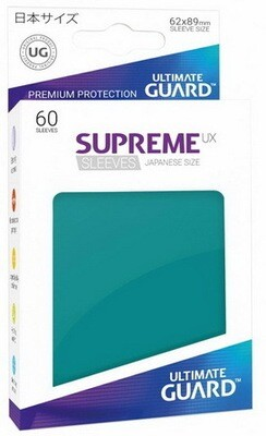 Ultimate Guard - Conf. 60 proteggicards Supreme UX Mini Petrol