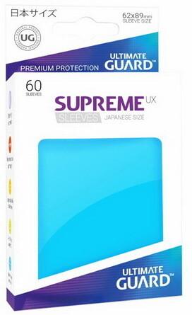 Ultimate Guard - Conf. 60 proteggicards Supreme UX Mini Azzurro [Light Blue]